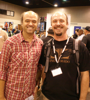 Me and Scott Adsit