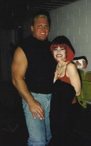 With Curt Henning