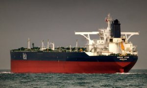 Sirius Star, hijacked off Somalia