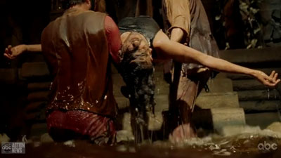 Sayid as Iraqi Jesus
