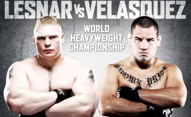 UFC 121 - Brock Lesnar vs. Cain Velasquez