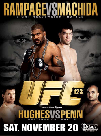 UFC 123: Rampage vs. Machida Predictions